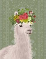 Llama Bohemian 4 Fine Art Print
