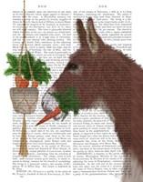 Donkey Lunch Book Print Fine Art Print