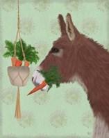 Donkey Lunch Fine Art Print