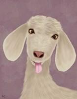 Funny Farm Goat 1 Fine Art Print