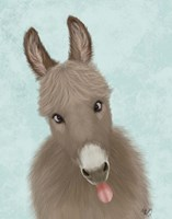 Funny Farm Donkey 2 Fine Art Print