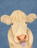 Funny Farm Cow 1 Fine Art Print