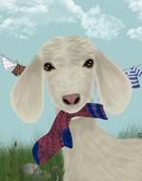 Goat Sock Lunch Fine Art Print