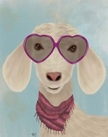 Goat Heart Glasses Fine Art Print