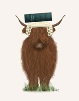Highland Cow Lawyer Fine Art Print