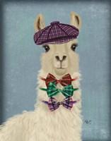 Llama Dapper Fine Art Print