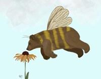 Bear Bee Fine Art Print