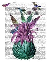Tropical Artichoke Book Print Fine Art Print