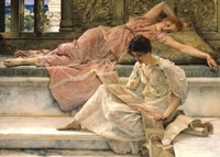 The Favourite Poet, 1888 Fine Art Print