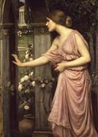 Psyche Entering Cupid's Garden Fine Art Print