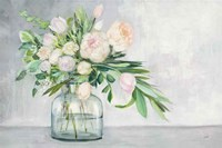 Blushing Spring Bouquet Fine Art Print