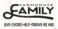 Farmhouse Family Fine Art Print