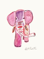 Edith the Elephant Fine Art Print