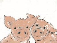 Pigs Fine Art Print