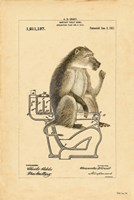 Monkey in Bowl Fine Art Print