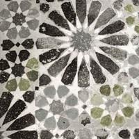 Alhambra Tile III Gray Green Fine Art Print