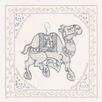 Winter Caravan Camel Fine Art Print