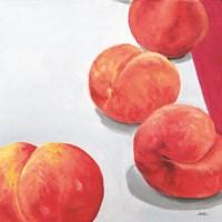 Soft Peaches Fine Art Print