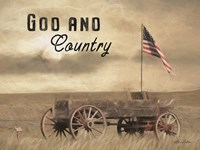 God and Country Fine Art Print