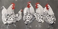 Chook, Chook, Chook Fine Art Print