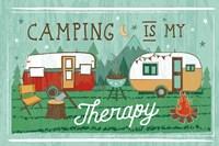 Comfy Camping VIII Fine Art Print
