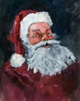 Jolly Santa Fine Art Print