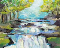The Waterfall Fine Art Print