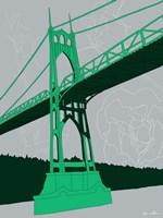 St. Johns Bridge - Portland Fine Art Print
