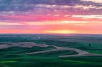 Palouse Sunset Fine Art Print