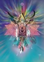 Cosmic Deer Fine Art Print