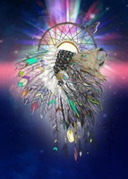 Cosmic Lion Butterfly Fine Art Print