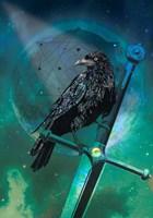 Cosmic Raven Fine Art Print