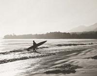 BW Surfer No. 3 Fine Art Print