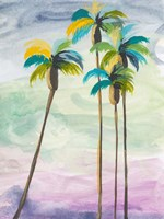 Four Palms No. 2 Fine Art Print