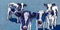 Four Cows Fine Art Print