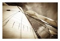 All Sails Set Fine Art Print