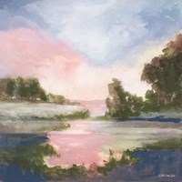Pastel Countryside 1 Fine Art Print