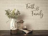 Faith & Family Fine Art Print