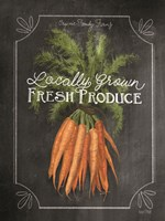 Fresh Carrots Fine Art Print
