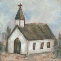 Chapel on the Hill Fine Art Print