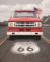 Dodge on Route 66 Fine Art Print