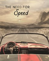 The Need for Speed Fine Art Print