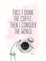 Coffee First Framed Print