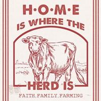 Vintage Farmhouse IV Framed Print