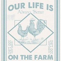 Vintage Farmhouse III Fine Art Print