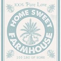 Vintage Farmhouse I Framed Print