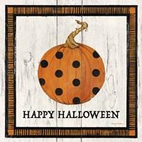 Happy Halloween Pumpkin Fine Art Print