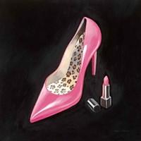 The Pink Shoe II Crop Fine Art Print