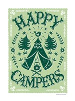 Happy Campers Fine Art Print