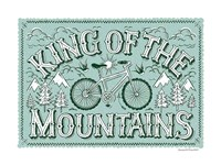 King of the Mountains Fine Art Print